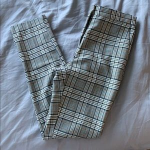 Zara plaid trousers!